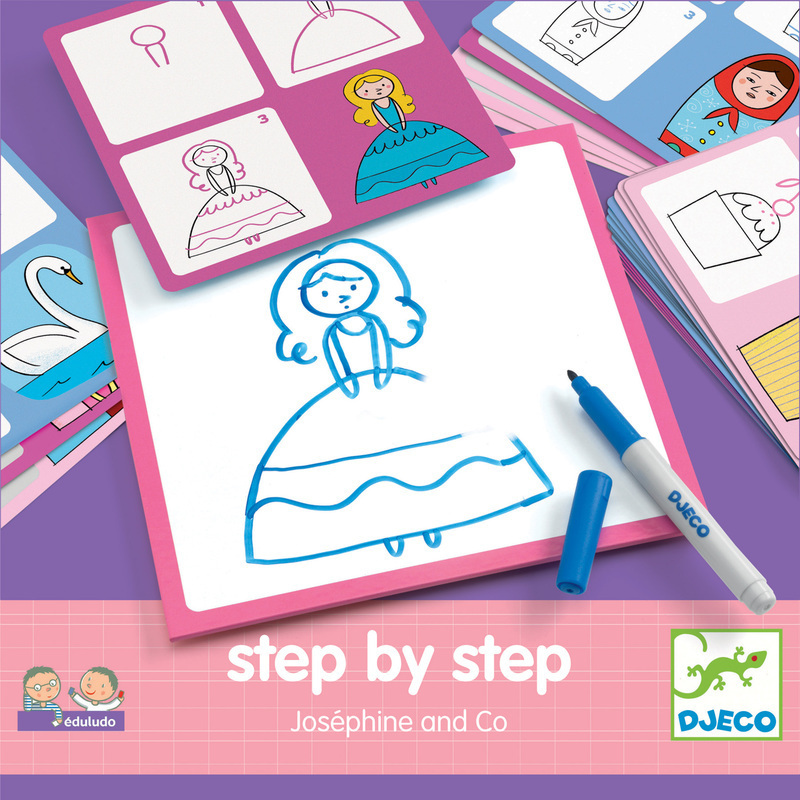 Step by Step Josephine & Co Drawing Kit
