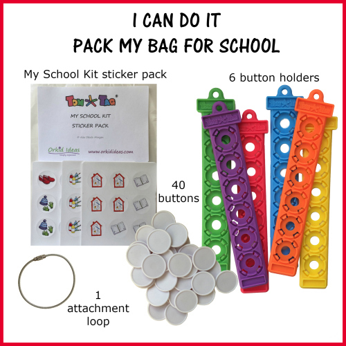 TomTag – I Can Do It – Pack My Bag For School