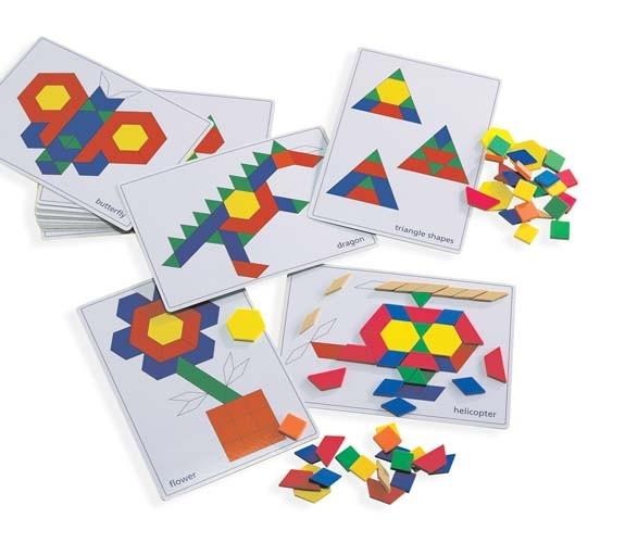Pattern Block Picture Cards and Blocks