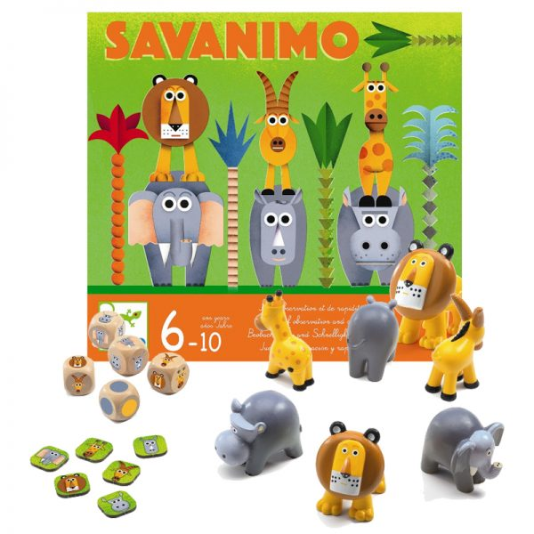Savanimo Game by Djeco