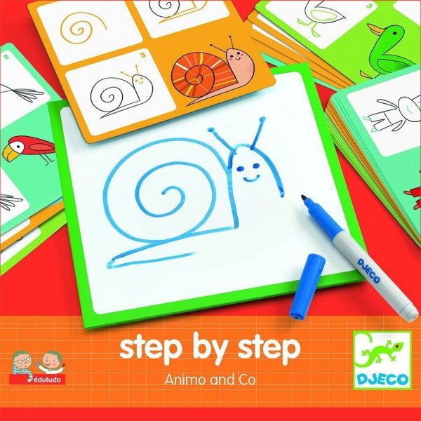 Step by Step Animo & Co Drawing Kit